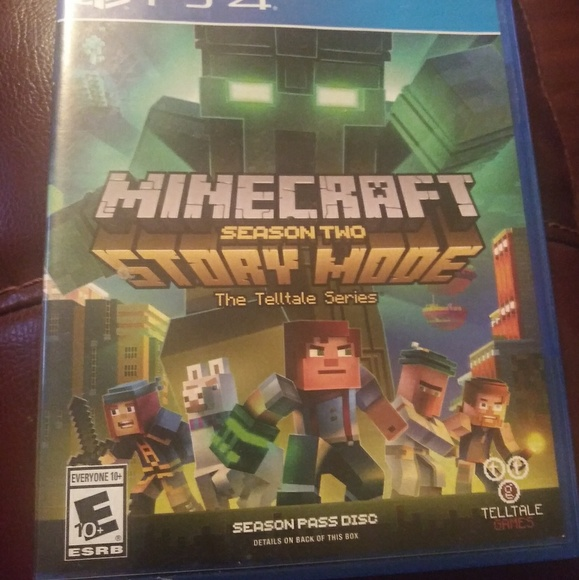 Other Minecraft Story Mode Season 2 For Ps4 Poshmark